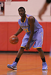 Andrew Wiggins dribbles the ball at Scott County High School in Lexington, Ky., on Sunday, November 18, 2012. Photo by Tessa Lighty | Staff