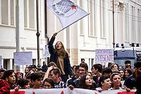 Giornata internazionale degli studenti, manifestazione a Roma