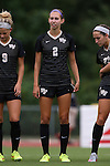 04 September 2015: Wake Forest's Madison Baumgardner. The Wake Forest University Demon Deacons played the William & Mary University Tribe at Dail Soccer Field in Raleigh, NC in a 2015 NCAA Division I Women's Soccer game. The game ended in a 1-1 tie.