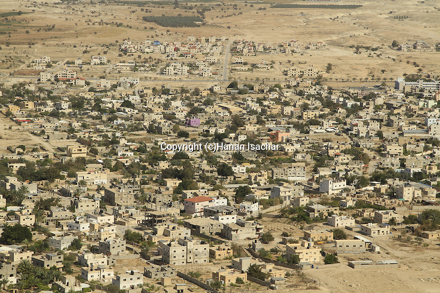A view of Jericho from Kypros, King Herod's fortress and palace