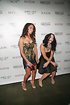 Melanie Iglesias and Stacy Kesand Stacy Kessler Attend  Maxim Magazine's Annual Maxim Party at the Greenwich Village Country Club, NY  2/4/12