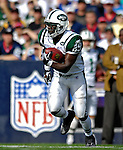 30 September 2007: New York Jets running back Leon Washington in action against the Buffalo Bills at Ralph Wilson Stadium in Orchard Park, NY. The Bills defeated the Jets 17-14 handing the Jets their third loss of the season...Mandatory Photo Credit: Ed Wolfstein Photo