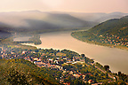 Banube Bend at Visegrad , Hungary