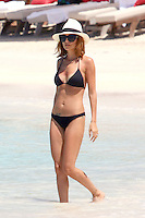 Nicole Richie takes a bikini dip while vacationing in Saint Barth