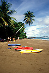 Costa Rica: Beach at Cano Island..Photo #: costar104..Photo copyright Lee Foster, 510/549-2202, lee@fostertavel.com, www.fostertravel.com.