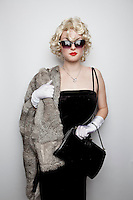 Beatrice Mc Bride from Queens Park is pictured at The 2012 Historic Houses Trust of NSW annual Fifties Fair at Rose Seidler House, Sydney. Picture James Horan