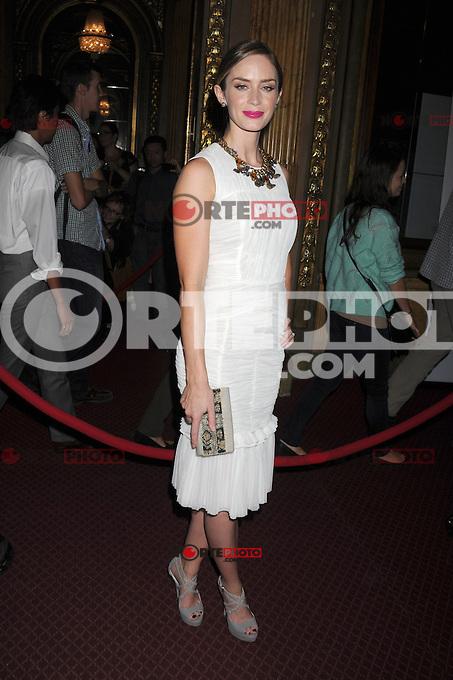 TORONTO, CA - SEPTEMBER 10: Emily Blunt at 'Arthur Newman' premiere during the 2012 Toronto International Film Festival held at TIFF Bell Lightbox on September 10, 2012 in Toronto, Canada. &copy;&nbsp;mpi01/MediaPunch Inc. /NortePhoto.com<br /> <br /> **CREDITO*OBLIGATORIO** *No*Venta*A*Terceros*<br /> *No*Sale*So*third*...