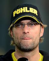 FUSSBALL   1. BUNDESLIGA   SAISON 2011/2012   26. SPIELTAG Borussia Dortmund - SV Werder Bremen               17.03.2012 Trainer Juergen Klopp (Borussia Dortmund)