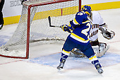 Andy Taranto (Alaska-Fairbanks - 29), John Muse (BC - 1) - The Boston College Eagles defeated the University of Alaska-Fairbanks Nanooks 3-1 (EN) in their NCAA Northeast Regional semi-final on Saturday, March 27, 2010, at the DCU Center in Worcester, Massachusetts.