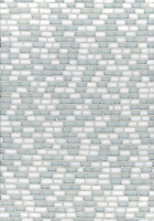 Smalti, a handcut class mosaic shown in Opal and Moonstone, is part of the Erin Adams Collection  for New Ravenna Mosaics.<br />