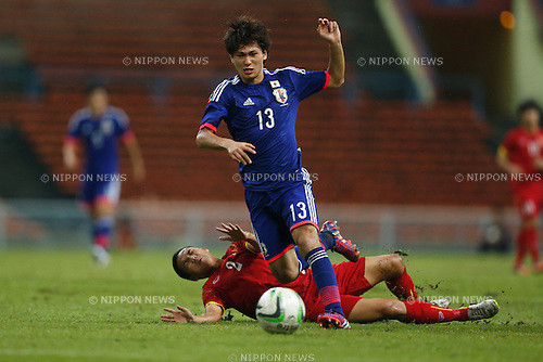 Takumi Minamino (JPN), MARCH 29, 2015 - Football / Soccer : AFC U-23 Championship 2016 Qualification Group I match between U-22 Japan - U-22 Vietnam at Shah Alam Stadium in Shah Alam, Malaysia. (Photo by Sho Tamura/AFLO SPORT)