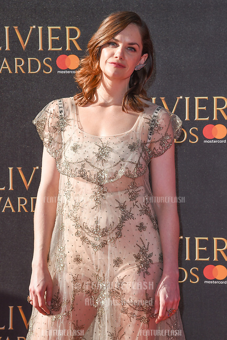 Ruth Wilson at The Olivier Awards 2017 at the Royal Albert Hall, London, UK. <br /> 09 April  2017<br /> Picture: Steve Vas/Featureflash/SilverHub 0208 004 5359 sales@silverhubmedia.com
