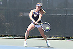 23 April 2015: Monica Robinson. The Notre Dame University Fighting Irish played the Florida State University Seminoles at the Cary Tennis Park in Cary, North Carolina in a 2015 NCAA Division I Women's Tennis and Atlantic Coast Conference Tournament First Round match. Florida State won the match 4-3.
