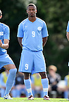 27 November 2011: North Carolina's Jordan McCrary. The University of North Carolina Tar Heels defeated the Indiana University Hoosiers 1-0 in overtime at Fetzer Field in Chapel Hill, North Carolina in an NCAA Men's Soccer Tournament third round game.