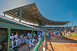 5 September 2016: The Vermont Lake Monsters prepare to play the last game of the season against the Lowell Spinners at Centennial Field in Burlington, Vermont. The Monsters defeated the Spinners 9-5 to close out their 2016 NY Penn League season. Mandatory Credit: Ed Wolfstein Photo *** RAW (NEF) Image File Available ***