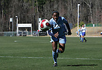 North Carolina's Jaime Gilbert on Saturday, March 3rd, 2007 on Field 1 at SAS Soccer Park in Cary, North Carolina. The Duke University Blue Devils played the University of North Carolina Tarheels in an NCAA Division I Women's Soccer spring game.