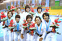 Japan Women's team group (JPN), AUGUST 17, 2011 - Judo : The 26th Summer Universiade 2011 Shenzhen Women's Team competition at Universiade Judo Hall, Shenzhen, China. (Photo by YUTAKA/AFLO SPORT) [1040]