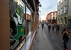 Aug. 30, 2012; Temple Bar, Dublin, Ireland..Photo by Matt Cashore/University of Notre Dame