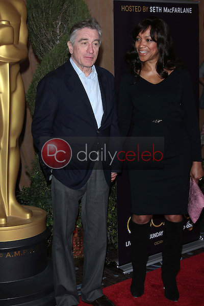 Robert De Niro and Grace Hightower<br />