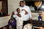 "Sean ""P Diddy"" Combs, helps his son, Christian Combs and his friends, celebrate his 12th birthday at Lavo restaurant, Las Vegas, NV , April 1, 2010© Al Powers / RETNA ltd"