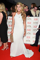 Amy Willerton at the National TV Awards 2017 held at the O2 Arena, Greenwich, London. <br /> 25th January  2017<br /> Picture: Steve Vas/Featureflash/SilverHub 0208 004 5359 sales@silverhubmedia.com