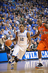 UK's Brandon Knight brings up the ball during the University of Kentucky Men's basketball game against Auburn at Rupp Arena in Lexington, Ky., on 1/11/11. Uk won the game 78-54. Photo by Mike Weaver | Staff