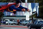 Superman Billboard on Sunset Strip