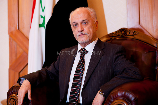 BAGHDAD, IRAQ: Hussain al-Shahristani, Deputy Prime Minister for Energy.