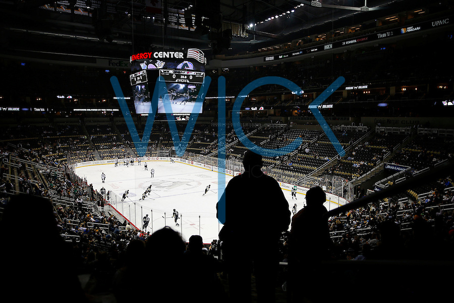 of the Pittsburgh Penguins of the Colorado Avalanche during the game on November 19, 2015.