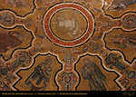 13th c Apse Arch Mosaics detail Baptistry of San Giovanni Florence