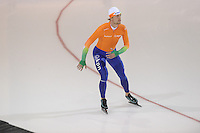 SCHAATSEN: SALT LAKE CITY: Utah Olympic Oval, 14-11-2013, Essent ISU World Cup, training, Michel Mulder (NED), ©foto Martin de Jong