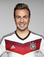 FUSSBALL   PORTRAIT TERMIN DEUTSCHE NATIONALMANNSCHAFT 24.05.2014 Mario Goetze (Deutschland)