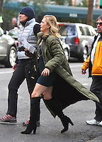 NEW YORK, NY-October 26: Natalie Hall shooting on location for new season of Shades of Blue in New York.October 26, 2016. Credit:RW/MediaPunch