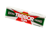 Trebor Peppermint Chewing Gum - March 2012
