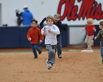 Jackson Newman runs the bases following Ole Miss vs. Houston at Oxford-University Stadium in Oxford, Miss. on Sunday, March 11, 2012. Ole Miss won 11-3 to sweep the three-game series.