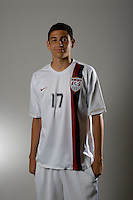 Gabriel Ferrari. U20 men's national team portrait photoshoot before the start of the FIFA U-20 World Cup in Canada. June 22, 2007.