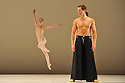 LONDON, UK. 12/05/2011.  Dutch National Ballet open at Sadler's Wells with Hans Van Manen's &quot;Master of Dance&quot;. Dancing this section are: Matthew Golding, Igone de Jongh, Marisa Lopez, Anna Tsygankova, Jozef Varga, Anu Viheriaranta, Cedric Ignace, Alexander Zhembrovskyy. Photo credit should read Jane Hobson