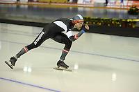 SPEED SKATING: CALGARY: Olympic Oval, 08-03-2015, ISU World Championships Allround,  Haralds Silovs (LAT), ©foto Martin de Jong