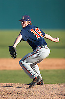 SAN ANTONIO, TX - MARCH 10, 2007: The College of Charleston Cougars vs. The University of Texas at San Antonio Roadrunners Baseball at Nelson Wolff Stadium. (Photo by Jeff Huehn)