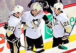 6 February 2010: Pittsburgh Penguins celebrate a second period goal against the Montreal Canadiens at the Bell Centre in Montreal, Quebec, Canada. The Canadiens defeated the Penguins 5-3. Mandatory Credit: Ed Wolfstein Photographer