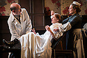 """""""In the Next Room' or """"The Vibrator Play"""" has its UK premiere at the Ustinov Studio Theatre, Bath. Written by Sarah Ruhl and Directed by Laurence Boswell. Picture shows: Paul Hickey (Dr Givings), Flora Montgomery (Sabrina Daldry), Lucy Robinson (Annie)."""