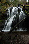 Cascade Falls on Orcas Islands