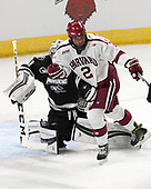 Hayden Hawkey (PC - 31), Tyler Moy (Harvard - 2) - The Harvard University Crimson defeated the Providence College Friars 3-0 in their NCAA East regional semi-final on Friday, March 24, 2017, at Dunkin' Donuts Center in Providence, Rhode Island.