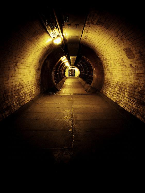 Greenwich Foot Tunnel, London, UK
