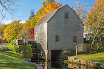 The Dexter Grist Mill  in Sandwich, Cape Cod, MA, USA