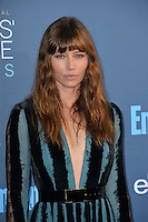 Jessica Biel at the 22nd Annual Critics' Choice Awards at Barker Hangar, Santa Monica Airport. <br /> December 11, 2016<br /> Picture: Paul Smith/Featureflash/SilverHub 0208 004 5359/ 07711 972644 Editors@silverhubmedia.com
