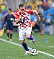 FUSSBALL WM 2014  VORRUNDE    Gruppe A    12.06.2014 Brasilien - Kroatien Ivica Olic (Kroatien) am Ball