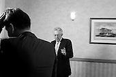 POLAND OUT / NIE DO SPRZEDAZY W POLSCE //// New Italian Prime Minister Mario Monti, former UN commissioner, at the Sheraton Hotel. .Warsaw, Poland, October 21, 2011. (photo by Piotr Malecki / Napo Images) ..Mario Monti, znany wloski polityk .Warszawa, Hotel Sheraton, 21/10/2011.Fot: Piotr Malecki / Napo Images.