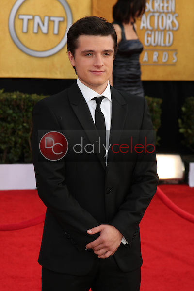 LOS ANGELES - JAN 30:  Josh Hutcherson arrives at the 2011 Screen Actors Guild Awards  at Shrine Auditorium on January 30, 2011 in Los Angeles, CA