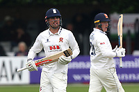 Alastair Cook and Tom Westley add to the Essex total during Essex CCC vs Hampshire CCC, Specsavers County Championship Division 1 Cricket at The Cloudfm County Ground on 19th May 2017